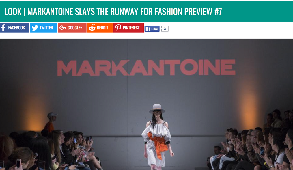MARKANTOINE SLAYS THE RUNWAY FOR FASHION PREVIEW#7