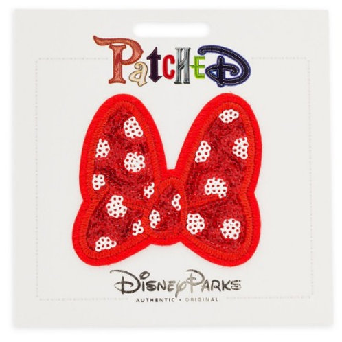 Disney Patched Minnie MouseBow