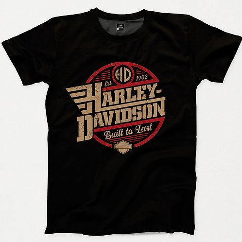 Harley Davidson Built to Last T-Shirt