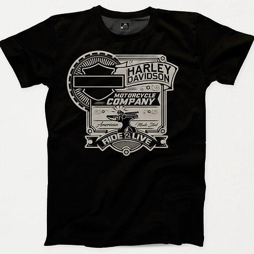 Harley Davidson Ride 2 Live T-Shirt