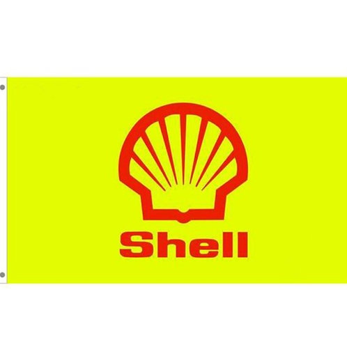Shell Gas Tailgating Flag