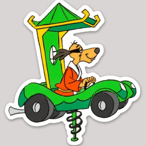 Hong Kong Phooey Hanna Barbera
