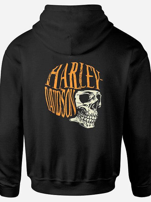 Harley Davidson Skull Helmet Hoodie