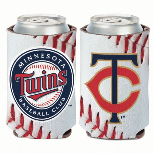 Minnesota Twins Ball Design Drink Cooler / Koozie