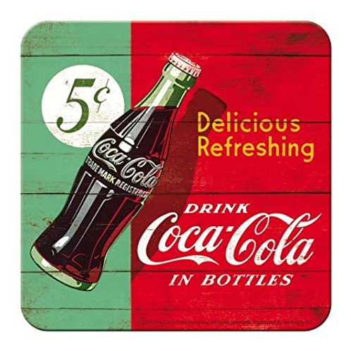 Coca Cola 5 Cents Coaster
