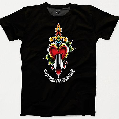 Heart & Dagger TBP Traditional Tattoo T-Shirt