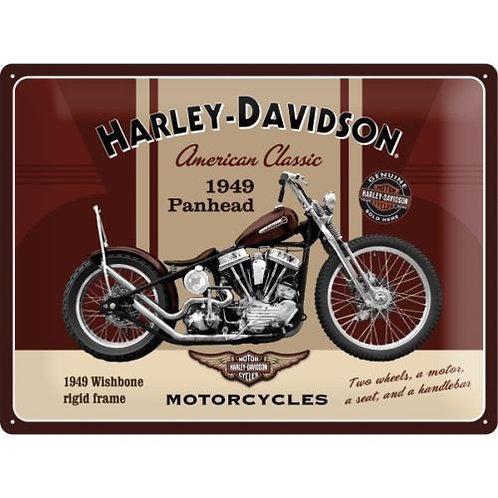 Harley Davidson 1949 Panhead Sign