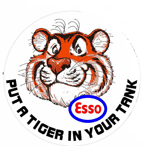 ESSO Tiger - Put a Tiger in your Tank