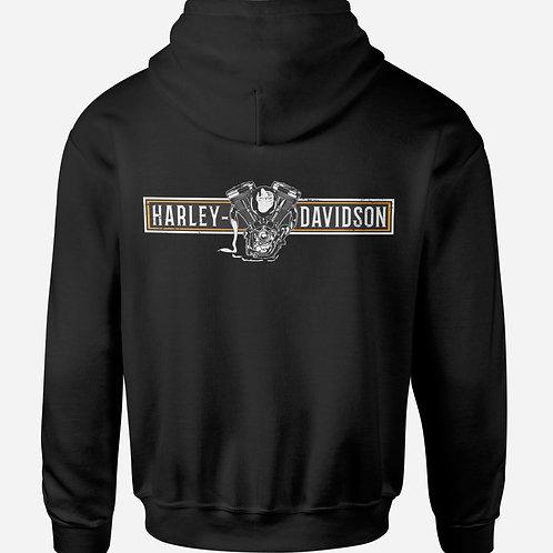 Harley Davidson Engine Heart Hoodie