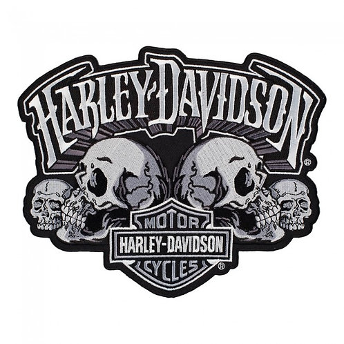 Harley Davidson Large Skull Patch