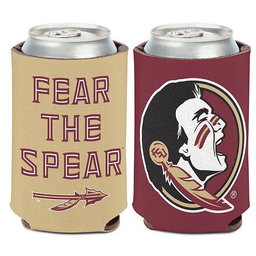 Fear the Spear Seminoles Koozie
