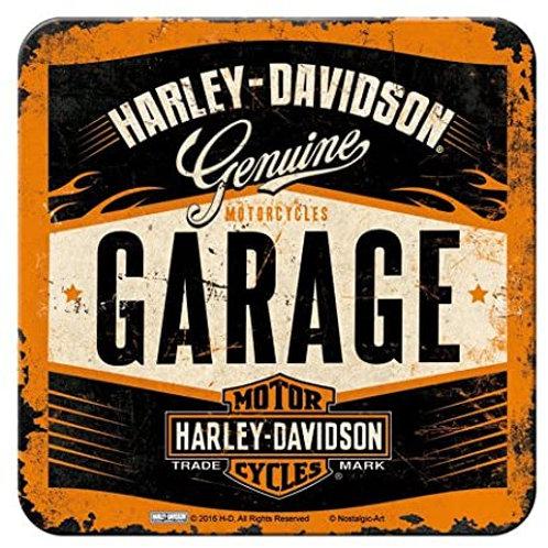 Harley Davidson Garage Coaster