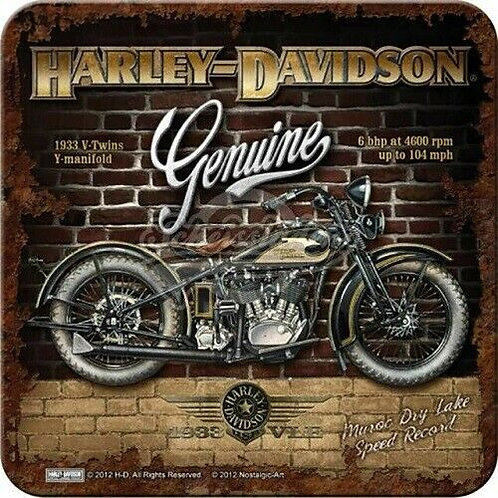 Harley Davidson Genuine Coaster