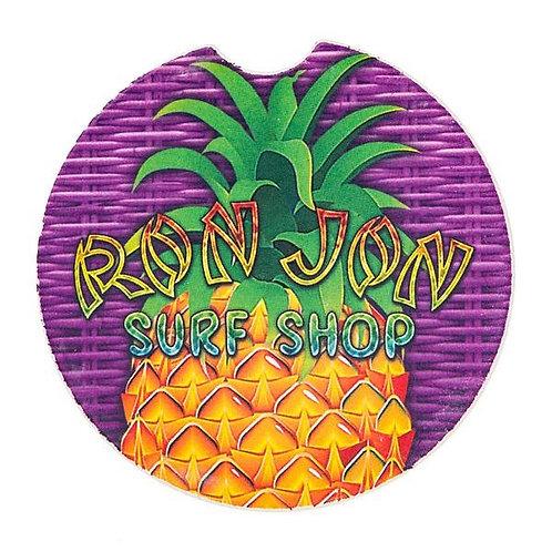 The Ron Jon Pineapple Car Coaster