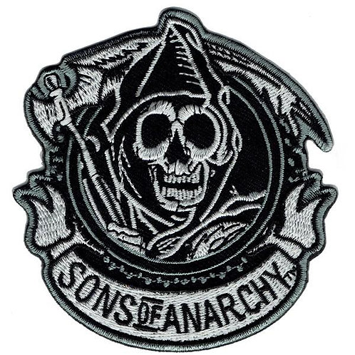 Sons of Anarchy Iron on Patch