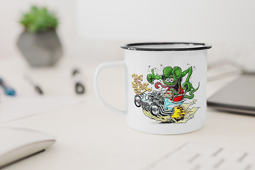 Tales of Ratfink Enamel Mug