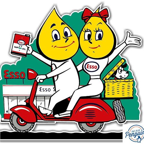 ESSO Gas Motorbike