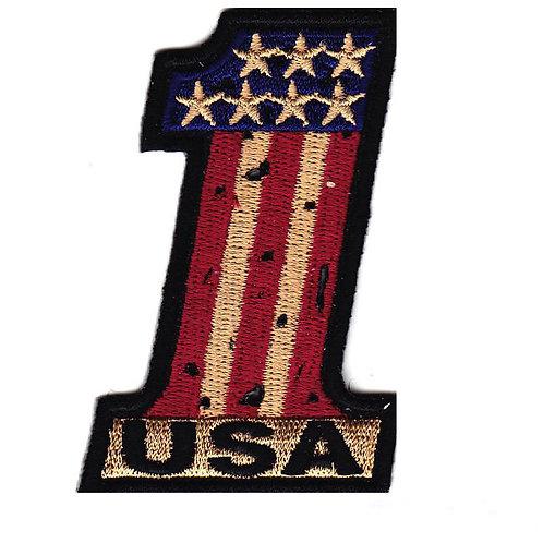 No 1 Glyph Patch Americana