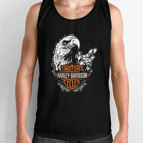 Harley Davidson Eagle Head Tank Top
