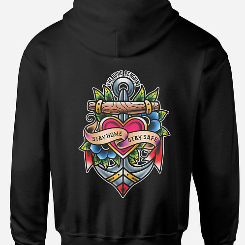 Stay Home Stay Safe Hoodie