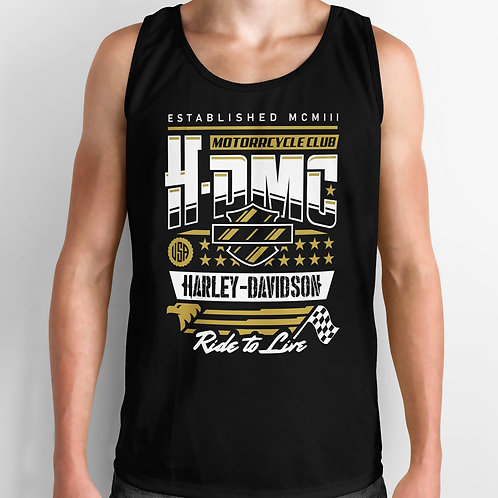Harley Davidson Motorcycle Club Tank Top