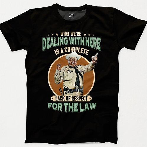 Smokey & The Bandit Sheriff T-Shirt