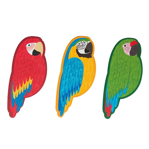 Parrot Paradise Nail File Assorted