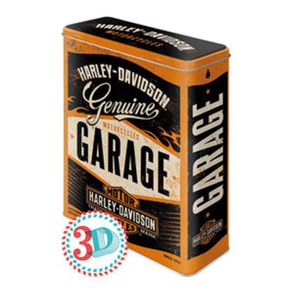 Harley Davidson Genuine Garage XXL Tin