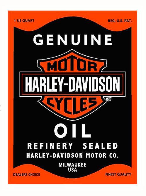 Harley Motor Oil Vintage
