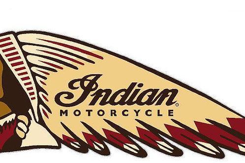 Indian Logo Left Facing