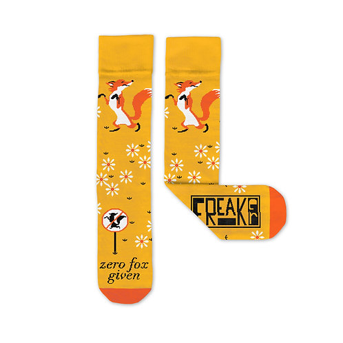 Zero Fox Given Freaker Socks