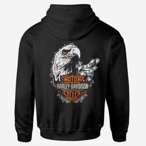 Harley Davidson Eagle Head Hoodie