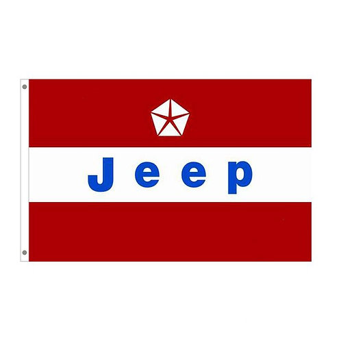 Jeep Tailgating Flag