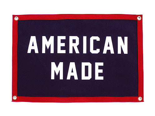 American Made Camp Flag