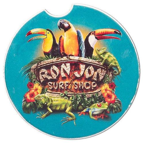 The Ron Jon Birds of Paradise Car Coaster