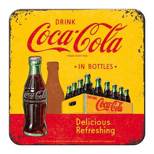 Coca Cola Bottle Coaster