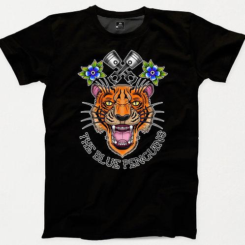 Tiger Piston TBP Traditional Tattoo T-Shirt