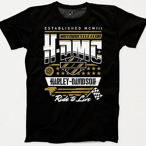 Harley Davidson Motor Club T-Shirt