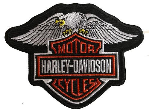 Harley Davidson Eagle Iron on Patch