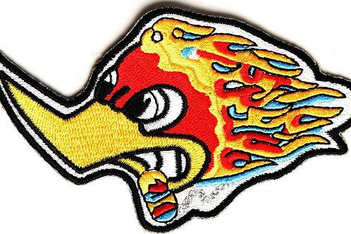 Smoking Woody Woodpecker Iron on Patch