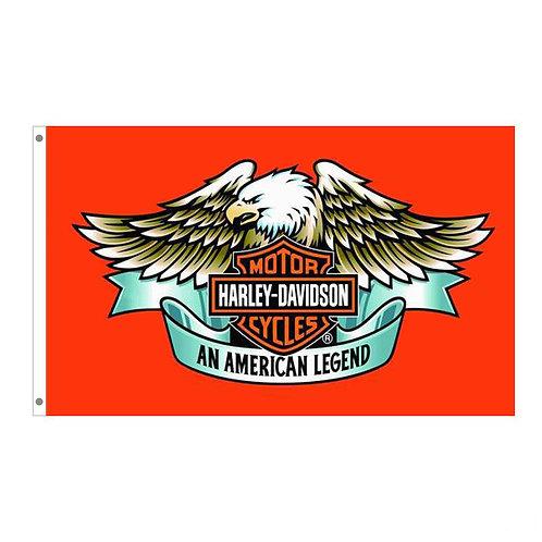 Harley Davidson Eagle Tailgating Flag