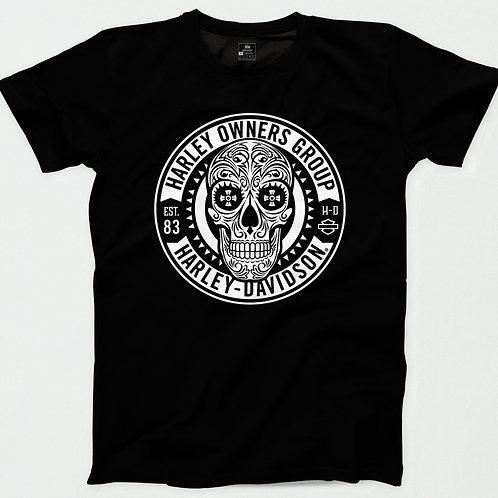 Harley Davidson Sugar Skull T-Shirt