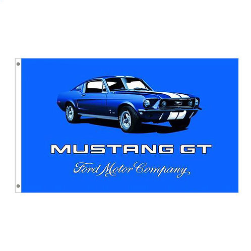 Ford Mustang GT Tailgating Flag