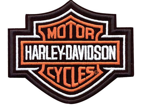 Harley Davidson Badge Iron on Patch
