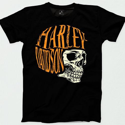 Harley Davidson Helmet Skull T-Shirt