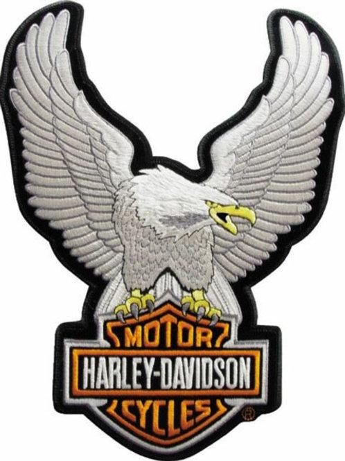 Harley Davidson Large Eagle Iron on Patch
