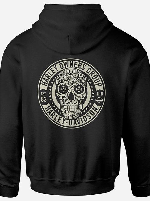 Harley Davidson Sugar Skull Hoodie