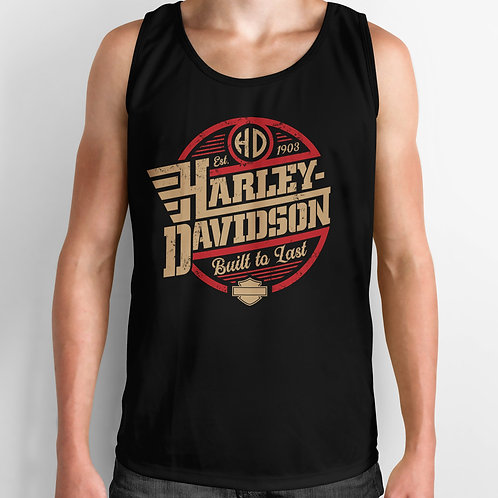 Harley Davidson Built to Last Tank Top