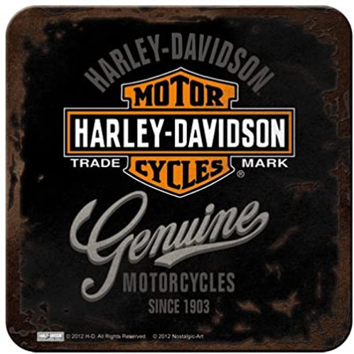 Harley Davidson Badge Coaster