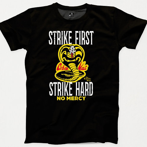 Strike First Karate Kid T-Shirt